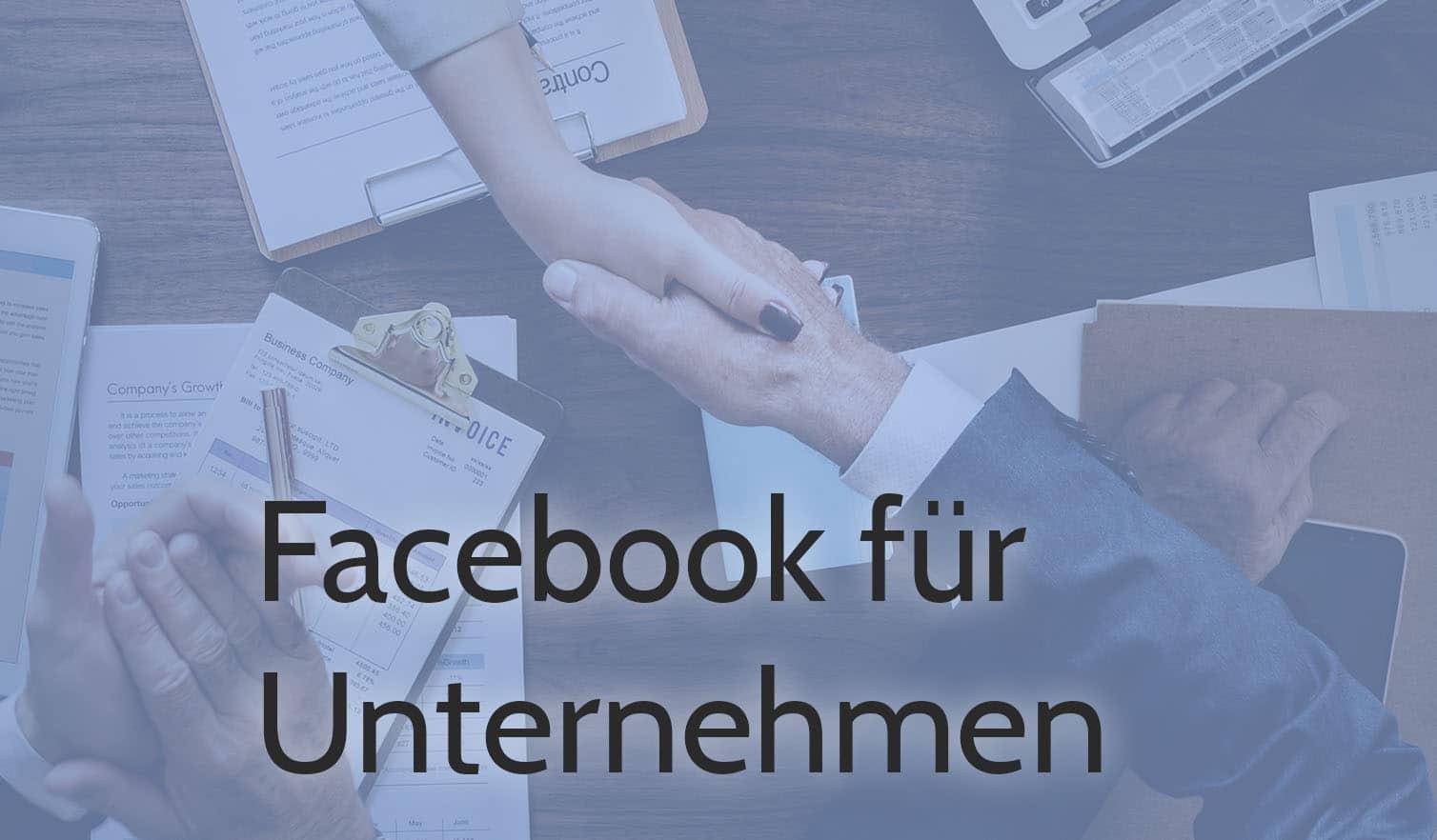 gruverde facebook fur unternehmen hände2